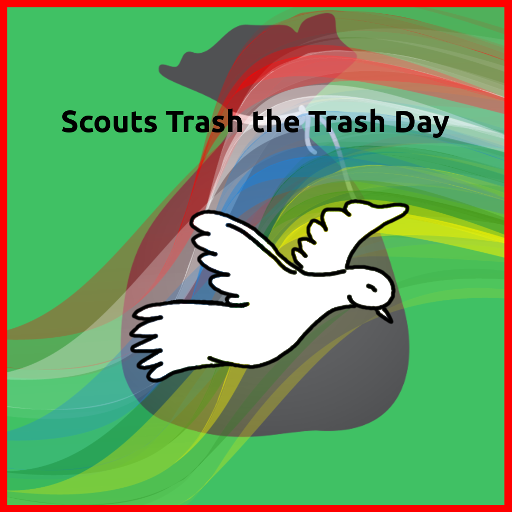 Scouts Trash the Trash Day